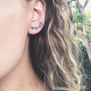 Turquoise Paradise Ear Cuff - Earrings - Bohemian Jewellery and Homewares - Lost Lover