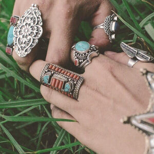 "Anatolian Ring - ""Floral Motif"" - Ring - Bohemian Jewellery and Homewares - Lost Lover"