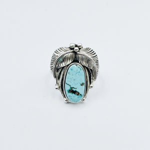 Carico Lake Light Blue Turquoise Ring - Ring - Bohemian Jewellery and Homewares - Lost Lover