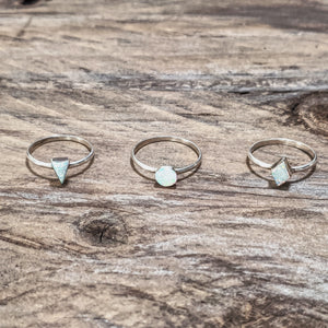 Opal Shapes Ring - Ring - Bohemian Jewellery and Homewares - Lost Lover