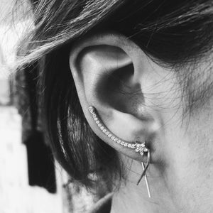 The Shooting Star Ear Cuff - Earrings - Lost Lover