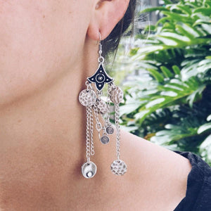 "Anatolian Earrings - ""Cosmic Whisper"" - Earrings - Bohemian Jewellery and Homewares - Lost Lover"