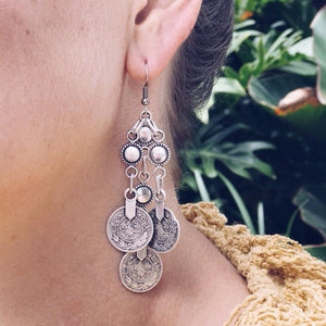 Anatolian Earrings - Silver Lining - Earrings - Lost Lover