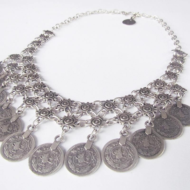 Alucra necklace with coins - Lost Lover - 3