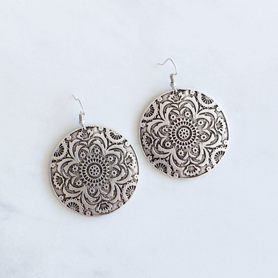 "Anatolian Earrings - ""Floral Bloom"""