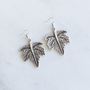 "Anatolian Earrings - ""Leaf"""