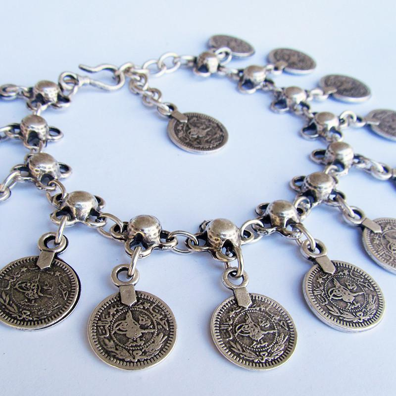 Anatolian Anklet With Coins - Bracelet - Lost Lover