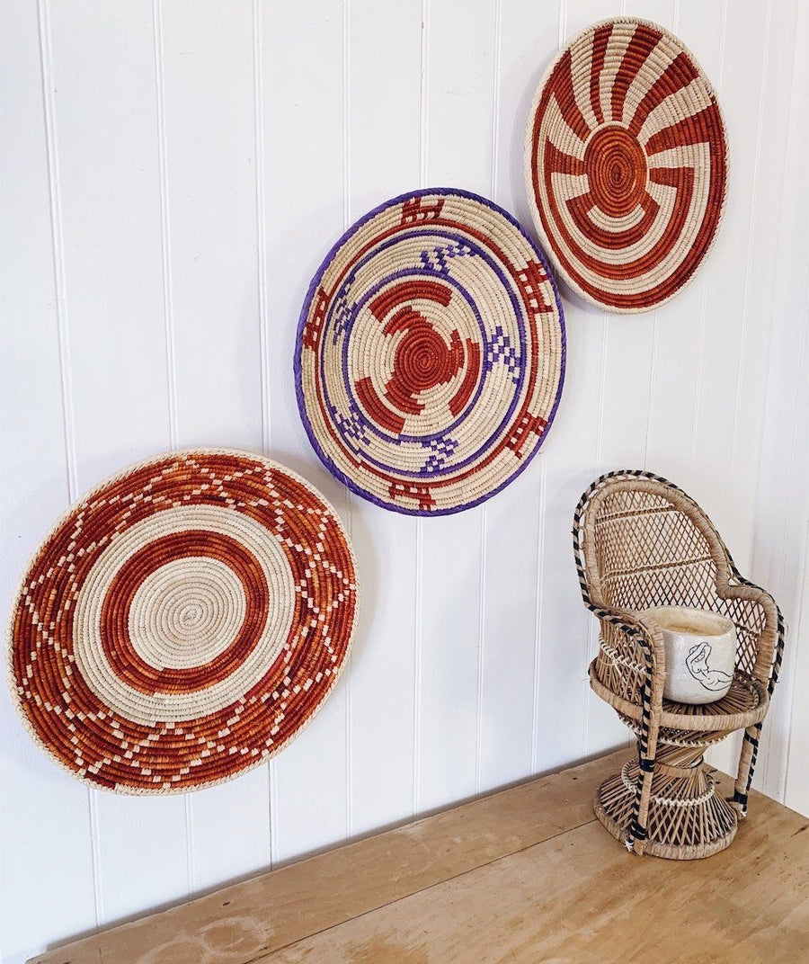 Tribal baskets - bundle deal - 6 - Basket - Bohemian Jewellery and Homewares - Lost Lover