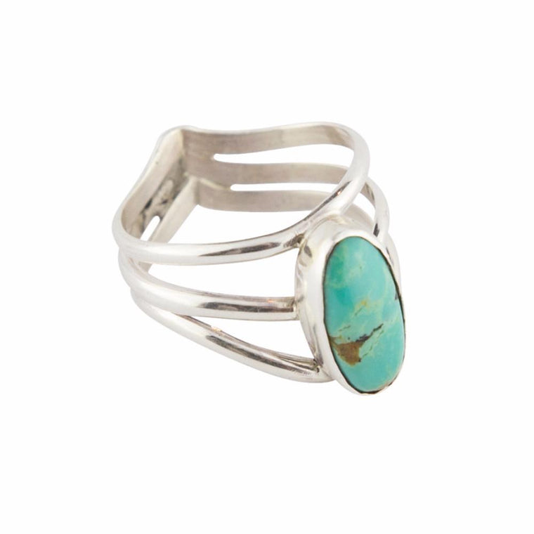 Blue Valley Navajo Ring - Lost Lover - 1
