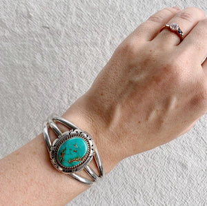 'Chenoa' Navajo Cuff - Bracelet - Bohemian Jewellery and Homewares - Lost Lover