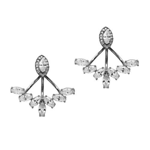 Effervescence Floating Earrings - Silver - Lost Lover