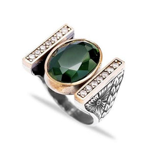 Emerald Goddess Ring