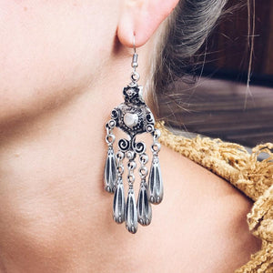 "Anatolian Earrings - ""Twilight Chandelier"" - Earrings - Bohemian Jewellery and Homewares - Lost Lover"