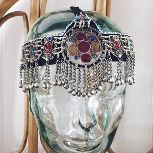 Kuchi headpiece - 'Jewelled Medallion' - selection - Headpiece - Bohemian Jewellery and Homewares - Lost Lover