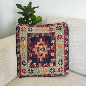 Chobi Kilim cushion cover - 13 - Cushion - Bohemian Jewellery and Homewares - Lost Lover