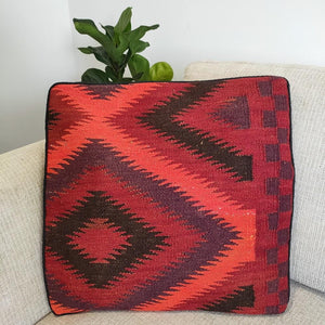 Kilim cushion cover - 19 - Cushion - Bohemian Jewellery and Homewares - Lost Lover