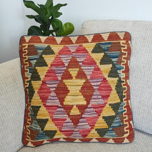 Kilim cushion cover - 27 - Cushion - Bohemian Jewellery and Homewares - Lost Lover