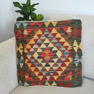 Kilim cushion cover - 29 - Cushion - Bohemian Jewellery and Homewares - Lost Lover