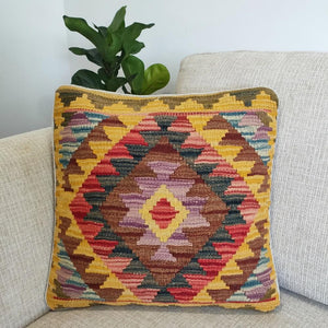 Kilim cushion cover - 31 - Cushion - Bohemian Jewellery and Homewares - Lost Lover