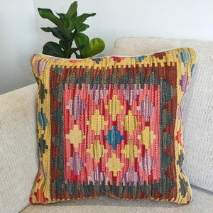 Kilim cushion cover - 32 - Cushion - Bohemian Jewellery and Homewares - Lost Lover