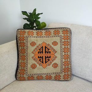 Chobi Kilim cushion cover - 06 - Cushion - Bohemian Jewellery and Homewares - Lost Lover
