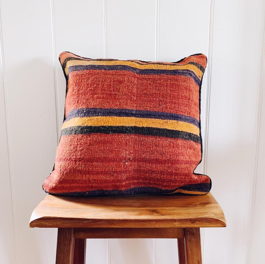 Kilim cushion cover - 11 - Cushion - Bohemian Jewellery and Homewares - Lost Lover