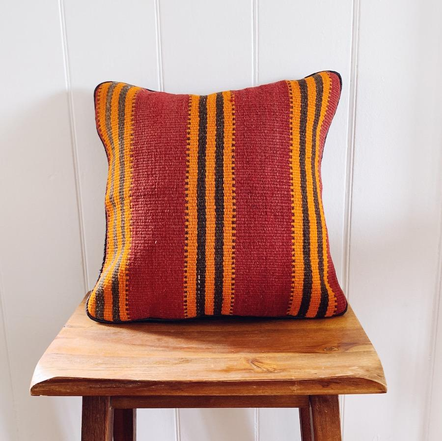 Kilim cushion cover - 14 - Cushion - Bohemian Jewellery and Homewares - Lost Lover