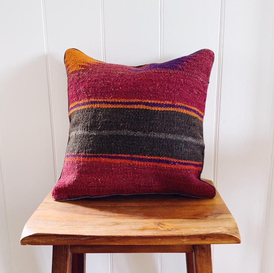 Kilim cushion cover - 15 - Cushion - Bohemian Jewellery and Homewares - Lost Lover