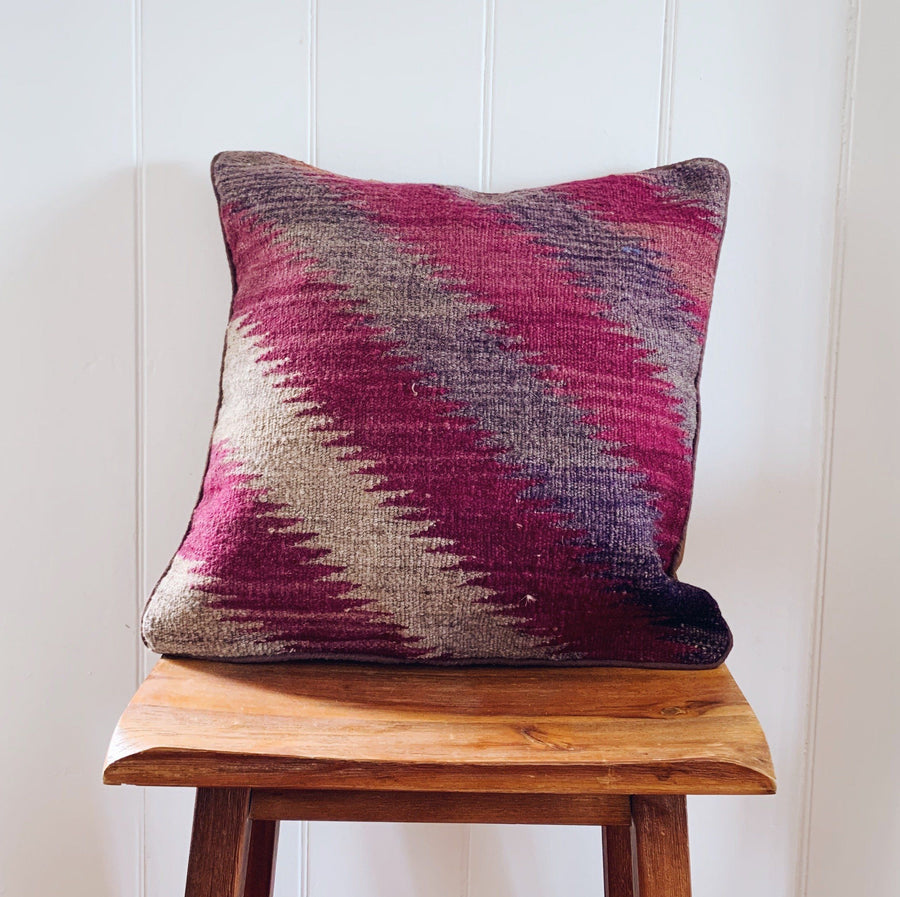 Kilim cushion cover - 8 - Cushion - Bohemian Jewellery and Homewares - Lost Lover