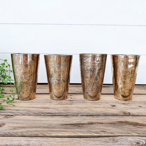 Bundle Deal 1 - Vintage Lassi Cups - Large Set of 4