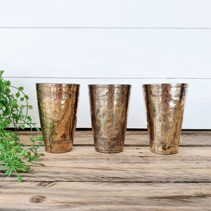 Bundle Deal 2 - Vintage Lassi Cups - Medium Set of 3