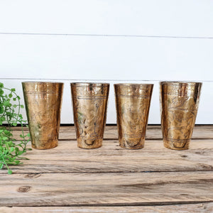Bundle Deal 4 - Vintage Lassi Cups - Medium Set of 4