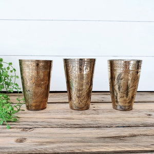 Bundle Deal 6 - Vintage Lassi Cups - Medium Set of 3