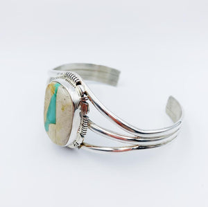 'Lilakai' Navajo Cuff - Bracelet - Bohemian Jewellery and Homewares - Lost Lover