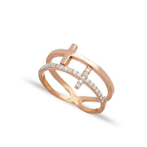 Rose Gold Sunbeam Ring