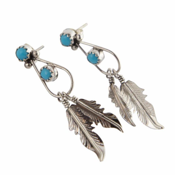 Spirit Bird Navajo Earrings - Lost Lover