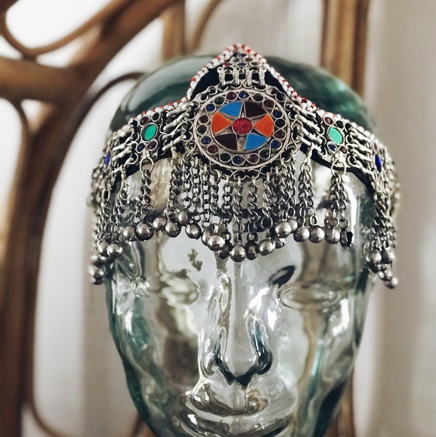 Kuchi headpiece - 'Star' - selection - Headpiece - Bohemian Jewellery and Homewares - Lost Lover