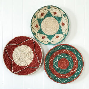 Tribal baskets - bundle deal - 9