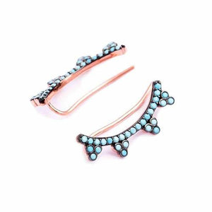 Turquoise Paradise Ear Cuff - Earrings - Lost Lover