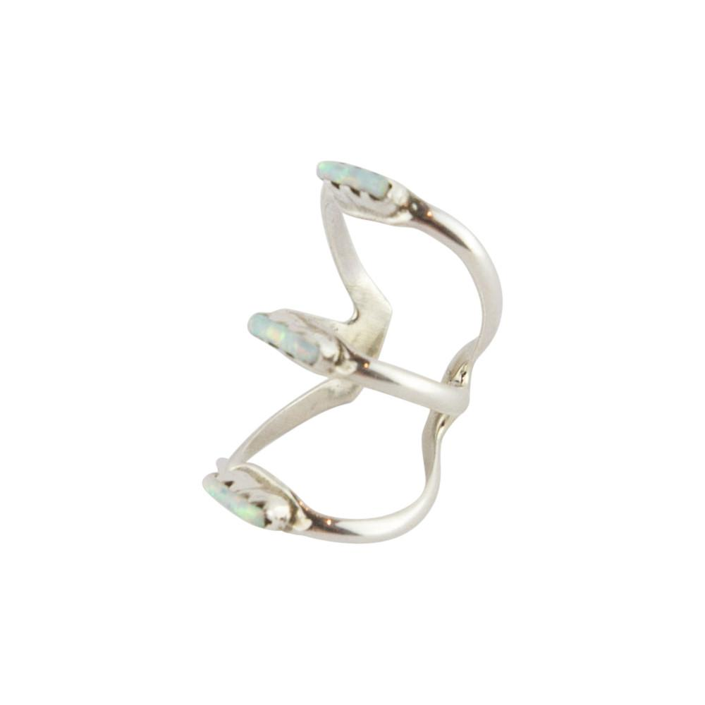 Vertigo Zuni Ear Cuff - White Opal - Lost Lover - 3