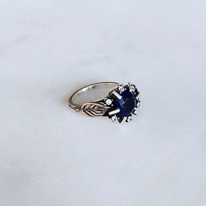 Vintage Ottoman Ring - Sapphire