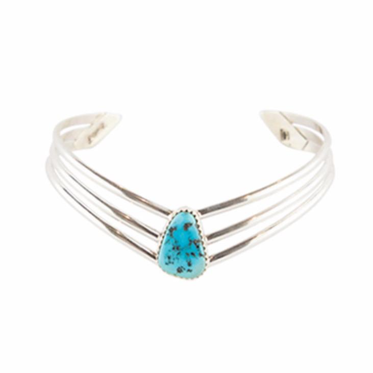 Wild River Navajo Cuff - Turquoise - Lost Lover - 1