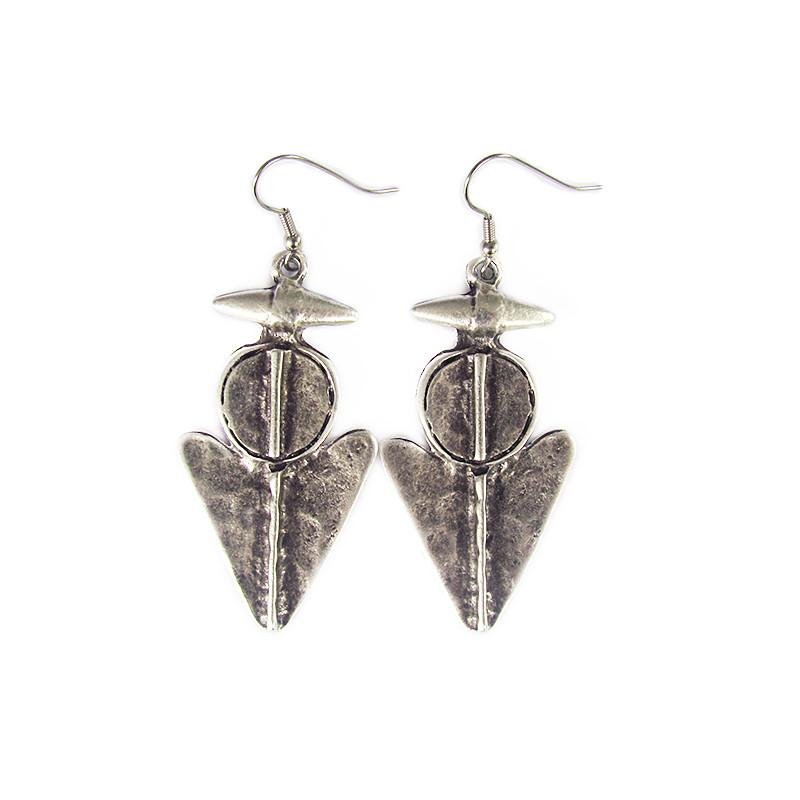 "Anatolian Earrings - ""Arrow"" - Lost Lover - 1"