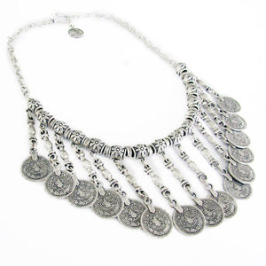 Ani Necklace With Coins - Necklace - Lost Lover