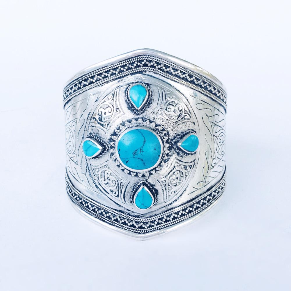 Oracle cuff - Turquoise - Lost Lover - 1