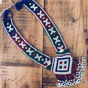 Traditional Afghan Beaded Necklace - Aaela - Necklace - Lost Lover