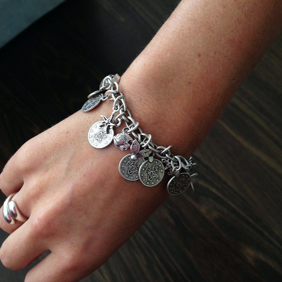 Amasya bracelet with coins - Bracelet - Bohemian Jewellery and Homewares - Lost Lover