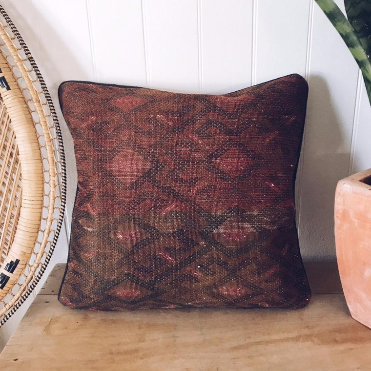 Kilim cushion cover - 4