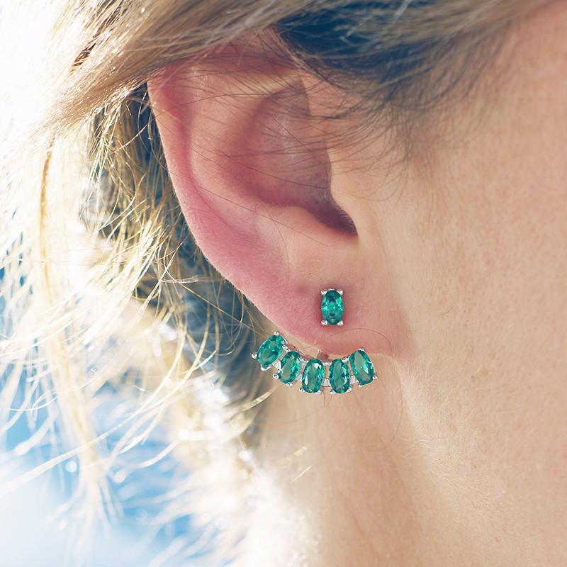 The Emerald City Floating Earrings - Lost Lover - 2