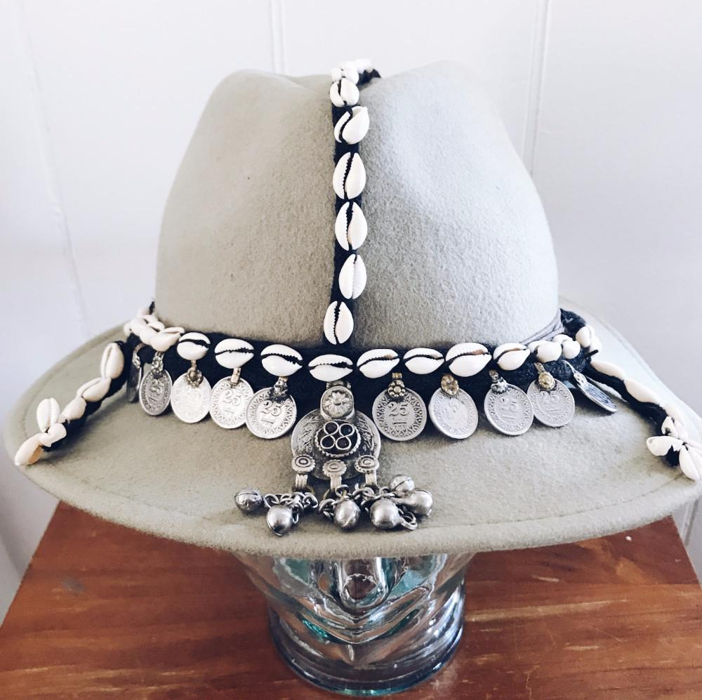 Cowrie & Coins Headpiece